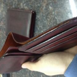 Những ưu điểm của chiếc ví da bò thật