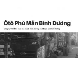 Công ty Ô tô Phú Mẫn chi nhánh Bình Dương Tx Thuận An Bình Dương