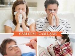 Cảm lạnh, cảm cúm khác nhau như thế nào?