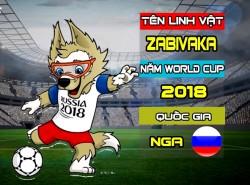 World Cup 2018 linh vật - World Cup 2018 Mascot