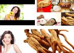 5 tác dụng tuyệt vời của hồng sâm đối với phụ nữ