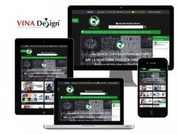 Báo Tiền Phong đưa tin về đối tác thiết kế website VINADESIGN: Shop Thằng Bé Sport - nơi hội ngộ của các tín đồ yêu thể thao