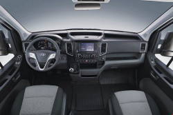 Nội thất xe Hyundai Solati 16 chỗ