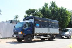 Mua xe tải Hyundai HD800 trả góp nhanh