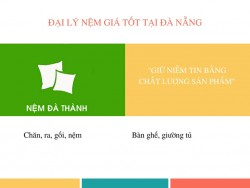Nệm Đà Thành - Đại lý nệm giá tốt tại Đà Nẵng