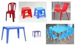 Cách chọn mua bàn ghế nhựa giá rẻ cho quán cà phê