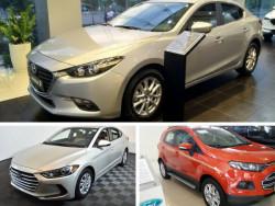 Tư vấn chọn mua xe ô tô: Hyundai Elantra, Ford Focus hay Mazda 3?