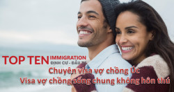 Tư vấn visa vợ chồng Úc - Mỹ