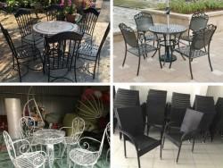 Cách chọn mua bàn ghế sân vườn TPHCM chất lượng