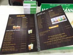 Công ty in menu TPHCM