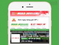 Công ty TNHH In Kỹ Thuật Số là đối tác bán hàng của Mạng xã hội MuaBanNhanh