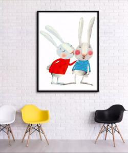 Cải cách không gian phòng khách sáng tạo hơn nhờ in tranh treo tường