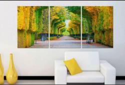 Mẫu tranh cây treo tường trang trí phòng khách