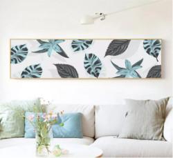 Thiết kế tranh trang trí tường cho phòng khách thêm cuốn hút
