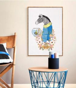 Trang trí tranh treo tường phòng bếp đầy sáng tạo