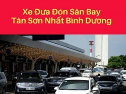 Xe đưa đón sân bay Tân Sơn Nhất Bình Dương