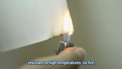 Vải dán tường chống cháy - Đột phá trong các giải pháp an toàn cho trang trí nội thất nhà