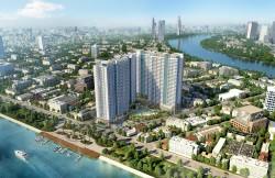 Căn hộ cao cấp Charmington Iris Quận 4, liền kề cảng Khánh Hội, view 3 mặt sông