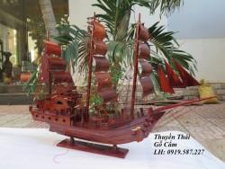 Vị trí đặt thuyền buồm phong thủy bằng gỗ giúp gia chủ gặt hái nhiều thành công