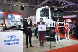 Dòng xe tải Daewoo ra mắt ở Hoàn Cầu An Sương