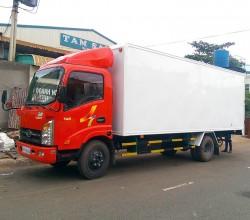 Xe tải veam vt260, thùng dài 6,2m, máy huyndai