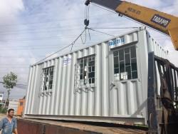 Giá của một container văn phòng có toilet là bao nhiêu?