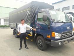 Báo Pháp Luật online đưa tin về Hyundai Đô Thành: Tặng 100% phí trước bạ khi mua xe Hyundai HD99