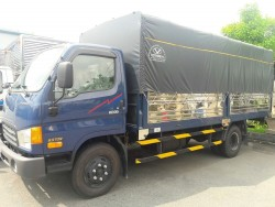 Xe tải 6.5 tấn thùng mui bạt