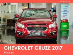 Chevrolet Cruze 2017 đánh giá