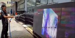 Cho thuê màn hình Led ngoài trời xem bóng đá cho nhà hàng, quán ăn, quán cafe sân vườn giá rẻ