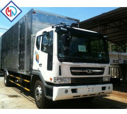 Những điều cần lưu ý khi mua xe tải Daewoo thùng kín trả góp