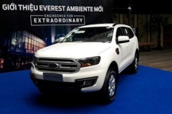 Ford Everest Ambiente 2018 vừa ra mắt tại Việt Nam có gì mới?