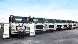 Line-up xe tải nặng, ben nặng và đầu kéo Hyundai được THACO phân phối