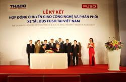 Xe tải Mishubisi Fuso Trường Hải chính thức phân phối độc quyền tại Việt Nam