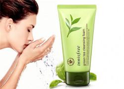 Sữa rửa mặt Innisfree trà xanh Green Tea Cleansing Foam hiệu quả đã được kiểm chứng
