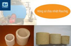 Vật liệu đệm xử lý khí thải, nước thải - Vòng sứ Raschig