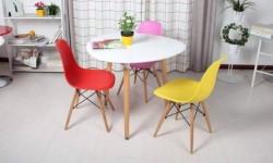 Mua bàn ghế cafe nhựa chân gỗ ở đâu chất lượng?