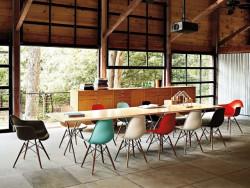 Bàn ghế cafe nhựa chân gỗ - Xu hướng nội thất ấn tượng cho quán cafe