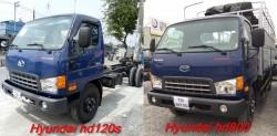 So sánh giữa xe Veam HD800 với xe HD120S Đô Thành