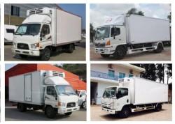 Lưu ý khi sử dụng xe tải thùng đông lạnh