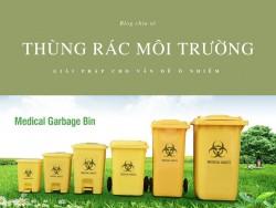 Thùng rác môi trường - Giải pháp cho vấn đề ô nhiễm