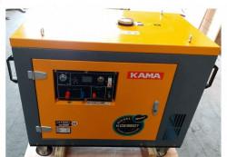Máy phát điện chạy dầu 7KW Kama KDE8800 chính hãng giá rẻ