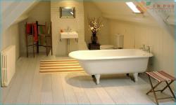 Có nên dùng sàn gỗ công nghiệp hiện đại cho nhà tắm?