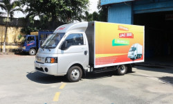 Mua xe tải Jac 1.25 tấn trả góp nhanh