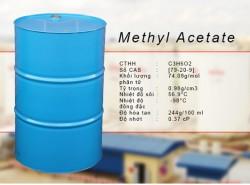 Tính chất, ứng dụng dung môi hóa chất Methyl Acetate (MA)