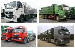 Kinh nghiệm chọn mua xe tải Howo