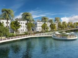 """Báo Dân Trí dưa tin về dự án biệt thự bên hồ Vinhomes Riverside – The Harmony """"Nóng"""" Trên Thị Trường"""