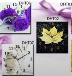 Tranh đồng hồ - phong cách trang trí mới trong cuộc sống hiện đại