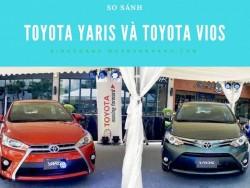So sánh Toyota Yaris và Toyota Vios