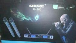 Đánh giá Micro không dây Shure u980 - Micro cao cấp phù hợp với mọi không gian karaoke gia đình